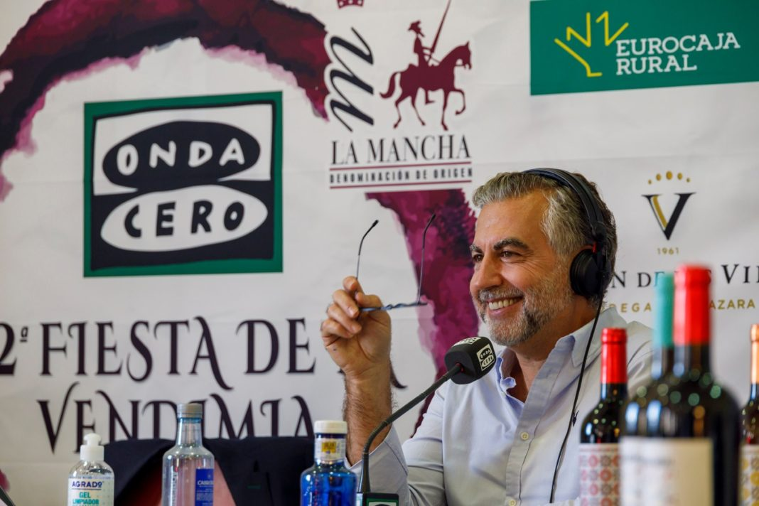 Carlos Alsina inaugura la Fiesta de la Vendimia en La Mancha