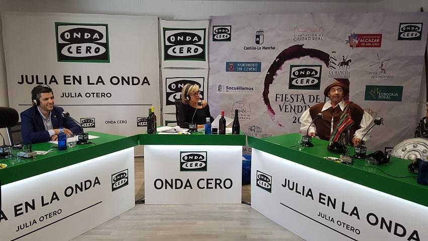 Fiesta de la Vendimia con Julia en la Onda