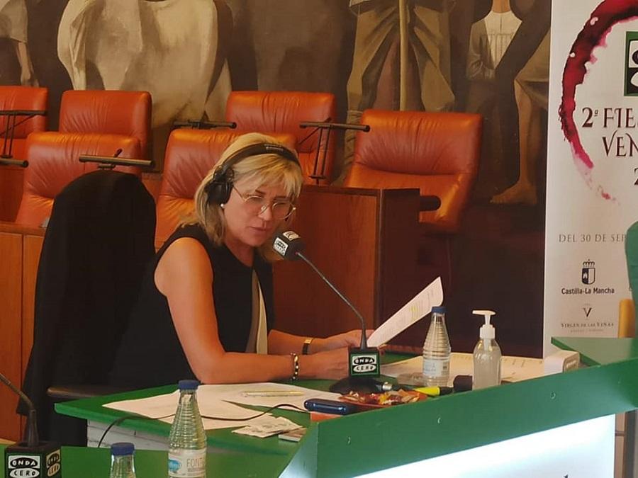 Julia Otero en Ciudad Real