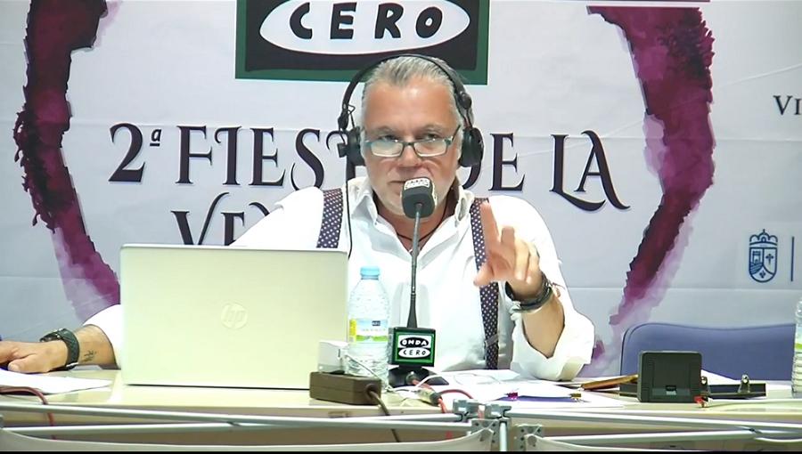 Juan Ramón Lucas en la II Fiesta de la Vendimia
