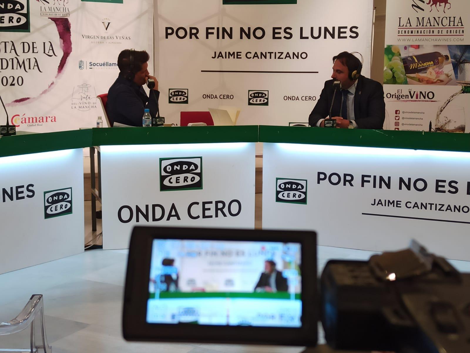 Jaime Cantizano entrevista al presidente de la DO La Mancha