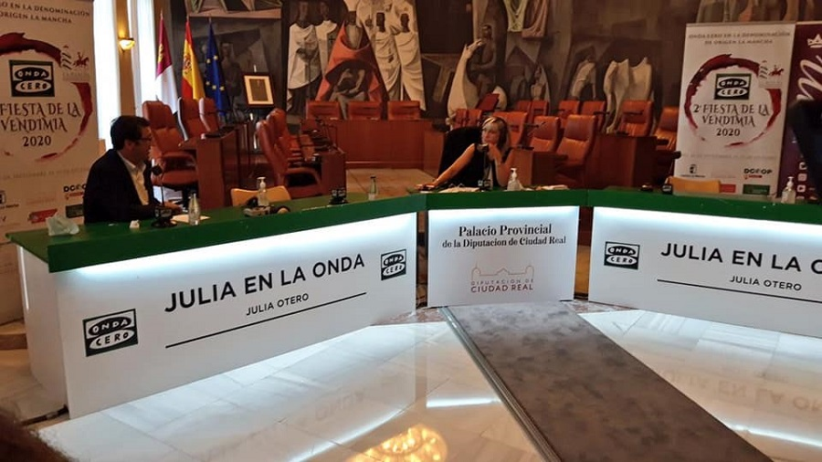 Julia Otero entrevista a José Manuel Caballero, presidente de la Diputación de Ciudad Real