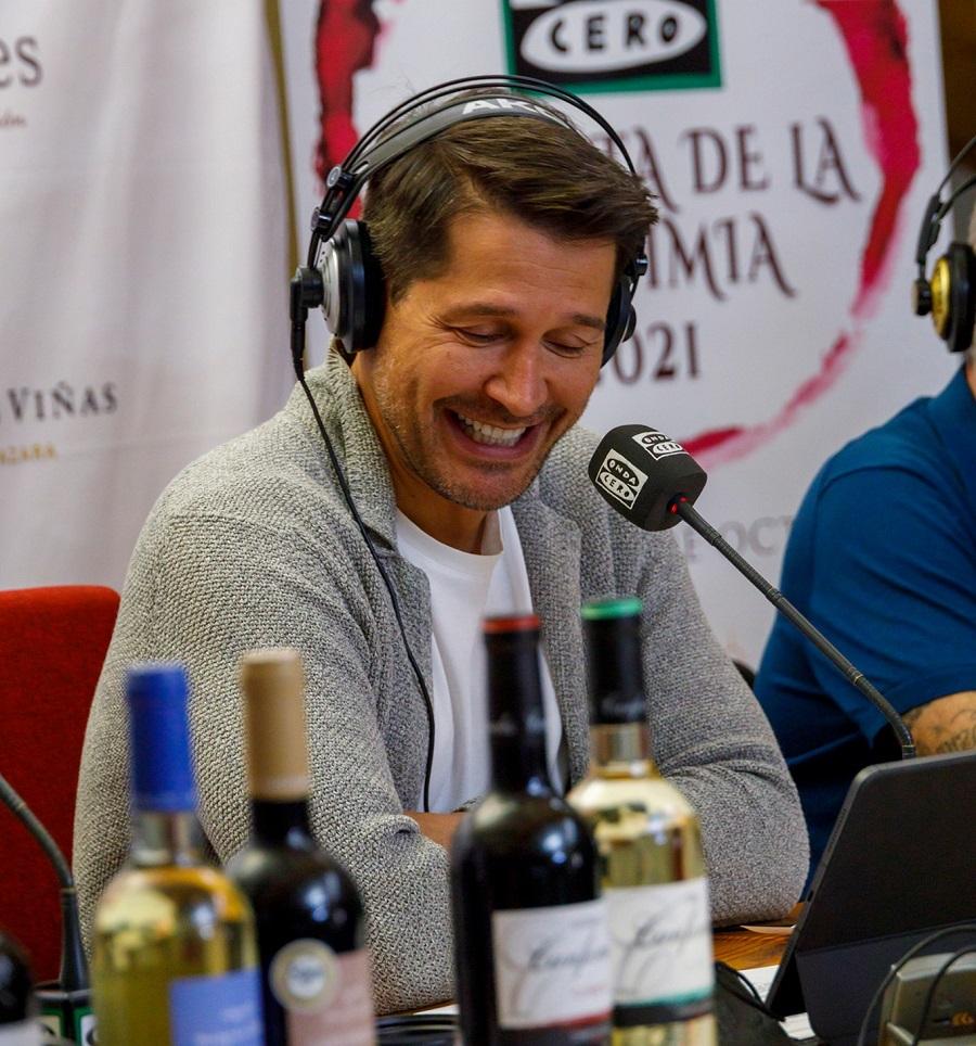 Jaime Cantizano y su programa Por Fin no es Lunes, desde Bodegas Campos Reales
